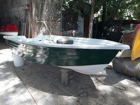Bote Lagunero Nuevo Con Borda Volcada Año 2018