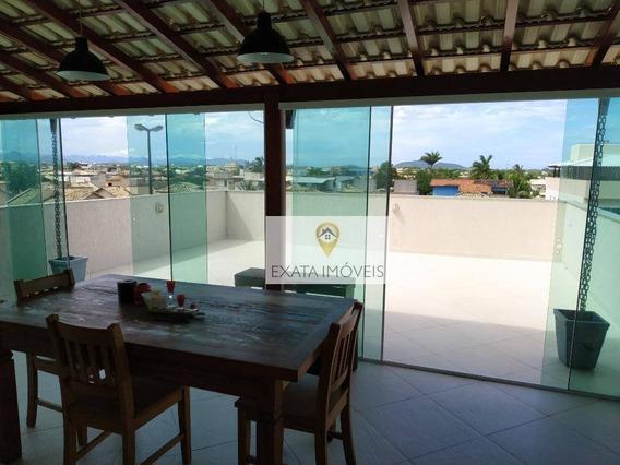 Apartamento/cobertura, Seminovo, Ouro Verde, Rio Das Ostras! - Co0045