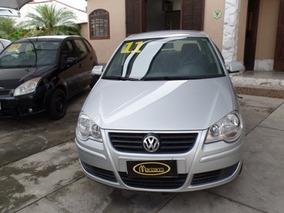 Vw - Volkswagen Polo Hatch 2010/2011 1.6 Completo C/ Multimi