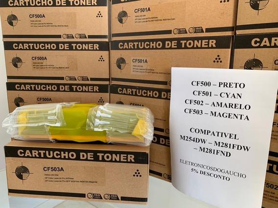 Toner Compatível Com Laser Color M281cdw M254dw - Todas Cor