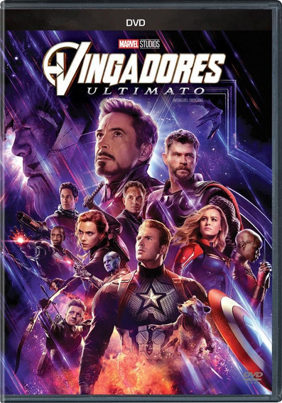 Vingadores - Ultimato - Dvd