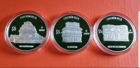 Monedas 2007 Iglesia Observatorio Casa Monjas Chichen Itza