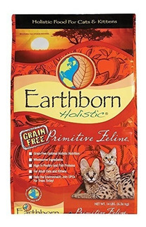 Earthborn Holistic Primitive Feline Natural Grainfree Dry Ca