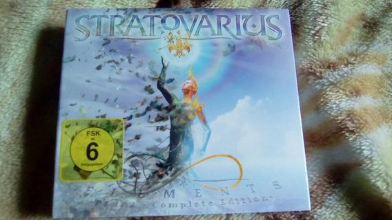 Stratovarius Elements Versao Especial Nao Lacrado Mas Novo