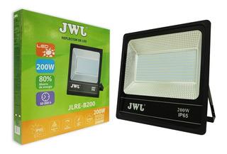 Reflector Led 200w Facetado Ultradelgado Luz Blanca Jwj