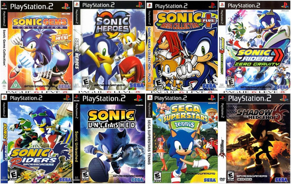 Sonic Collection (8 Jogos) Ps2 Patch Desbloqueado