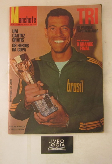 Revista Carlos Alberto Tri 60 Páginas Espetaculares Em Cores