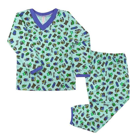 Kit 20 Pijamas Infantil Conjunto Menino Estampado Atacado