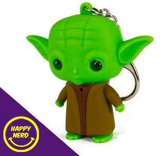 Mestre Yoda - Chaveiro Com Luz E Som Star Wars