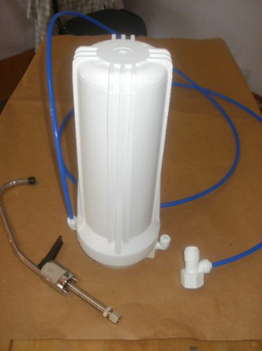 Filtro Bajomesada Purificador De Agua Anticloro S/ Soporte
