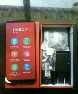 Moto Z3 Play Novo, Lacrado Na Caixa