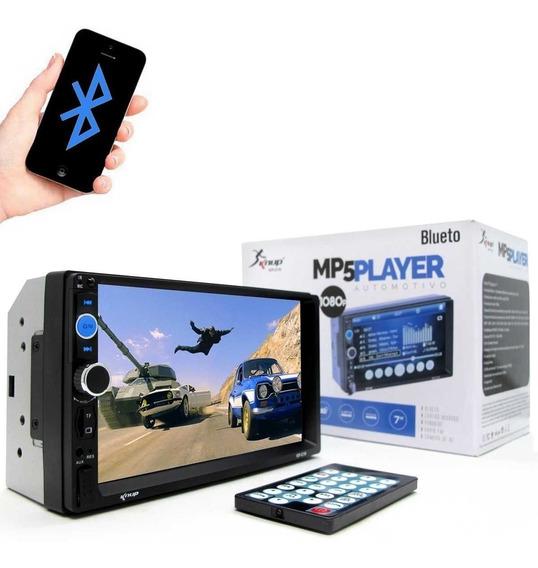 Central Multimídia Knup Kp-c19 Mp5 Player 7 2 Din Bluetooth