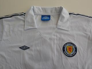 Camisa Seleção Escocia Copa 1978 Away.....