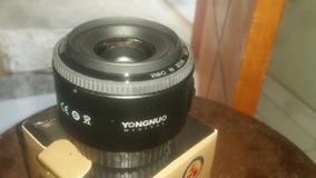 Lente 35mm Yongnuo Canon