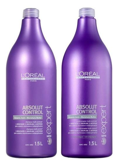 Shampoo E Condicionador Absolut Control Loréal Professionnel