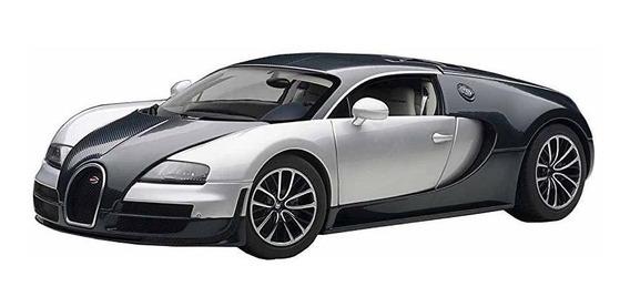 Autoart 1 18 Bugatti Veyron Super Sports Dark Blue Silver ®