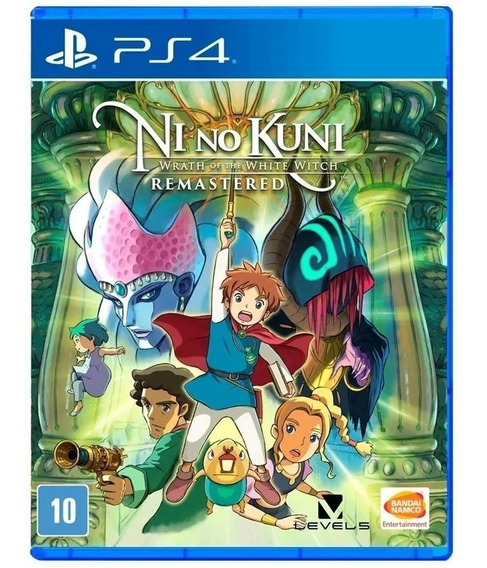 Ni No Kuni Wrath Whtie Witch Remastered Ps4 Mídia Física