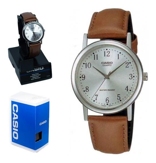 Casio Reloj Piel Mtp-1095e-7b | Watchito