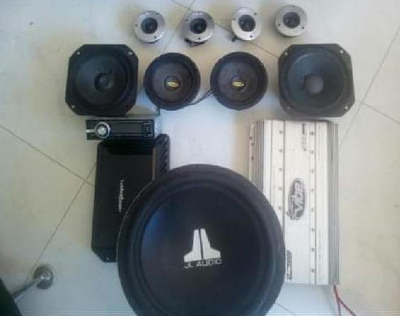 Sonido Planta Lanzar Pro 1600 Y Rockford T600-2