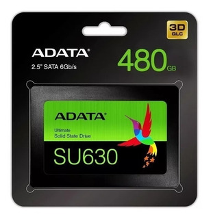 Disco Duro Estado Solido Adata Su630 480gb Sata 2.5 Original