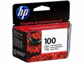 Cartucho Hp 100 Gris Fotográfico, Modelo: C9368al