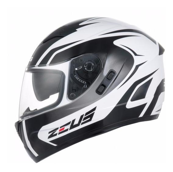 Capacete Zeus 810sv J11 White/black