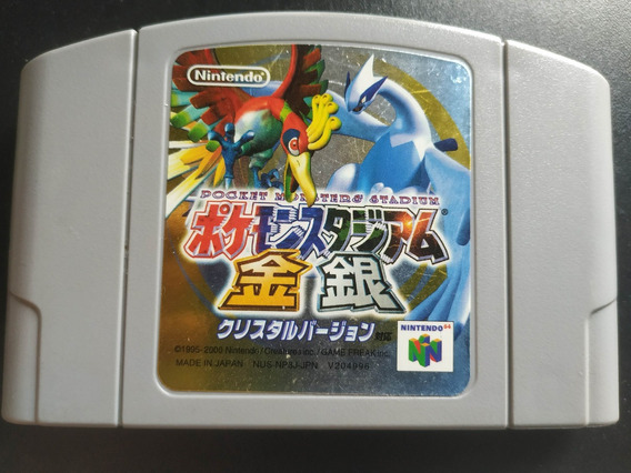 Pokemon Stadium 2 Original Japonês Nintendo 64