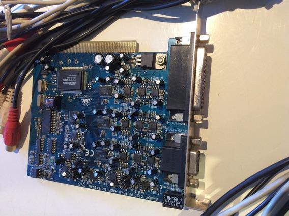 Placa De Áudio Delta 1010 Lt - 10 In X 10 Out - Pci