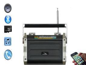 Rádio Portátil Bluethoot/am/fm/usb 8w Rms D-f 5