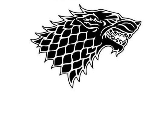 Colar Lobo Game Of Thrones Obsidian Rocha Vulcânica Original