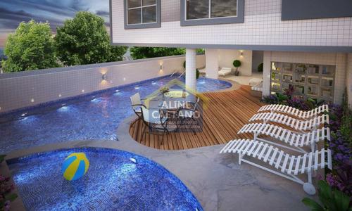 Lindo Apartamento Com 2 Dorms 1 Suite, Guilhermina - Vesa2309