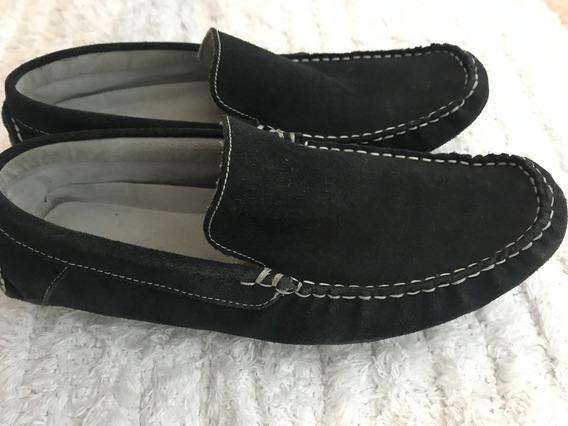 Sapato Tenis Calvin Klien Camurca Azul - Original