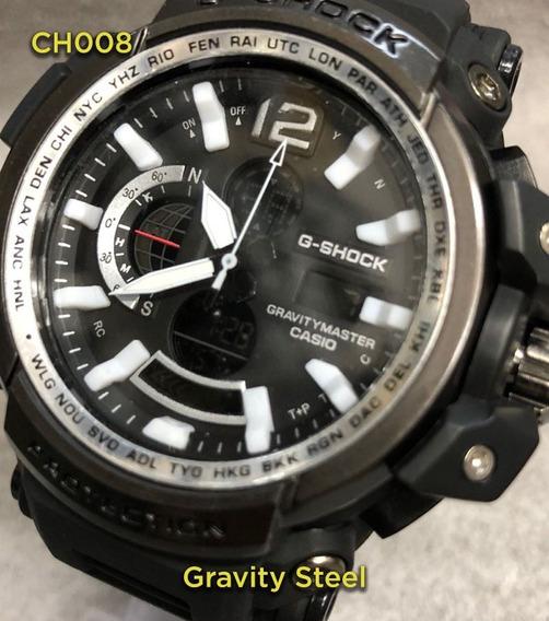 Relógio G Shock Gravity Steel