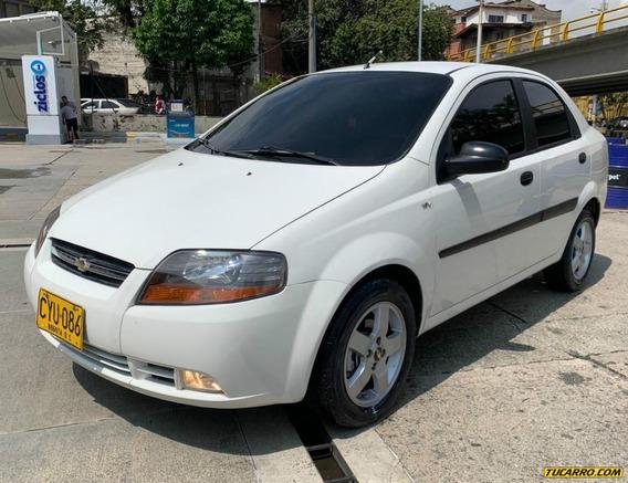 Chevrolet Aveo Ls Mt 1600 16v