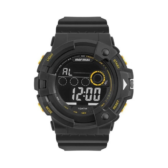 Relógio Mormaii Masculino Digital Preto Mo15100ab/8p
