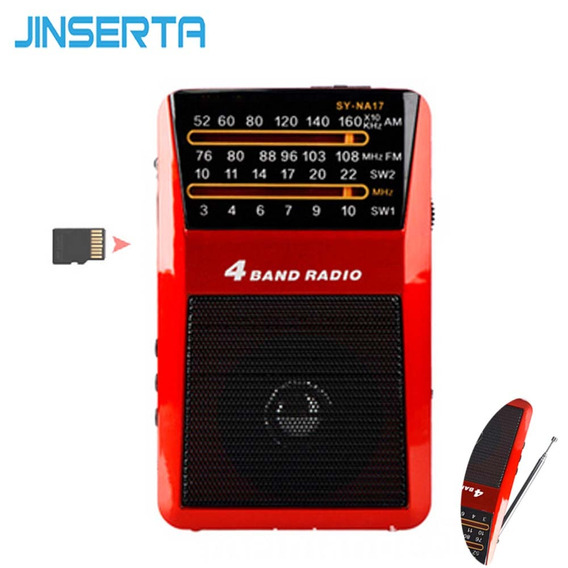 Rádio Receptor Merenda Sy-na17 Am//fm/sw Mp3 Player