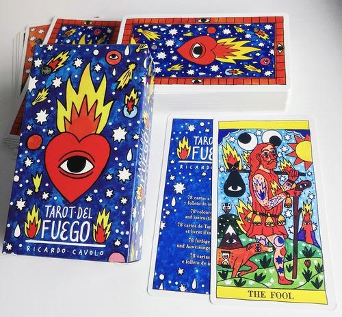 Cartas Tarot De Fuego *78 Cartas* Arcanos Mayores Y Menores