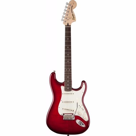 Guitarra Squier Stratocaster Fmt Rw Red 032-1670-538
