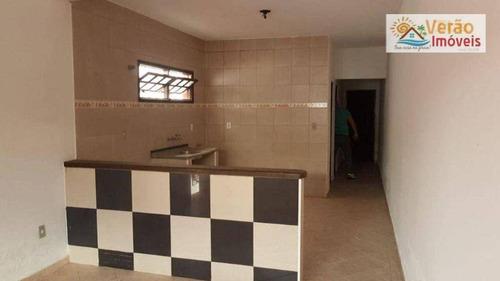 Imagem 1 de 14 de Casa Com 2 Dormitórios À Venda, 73 M² Por R$ 160.000,00 - Corumbá - Itanhaém/sp - Ca0902