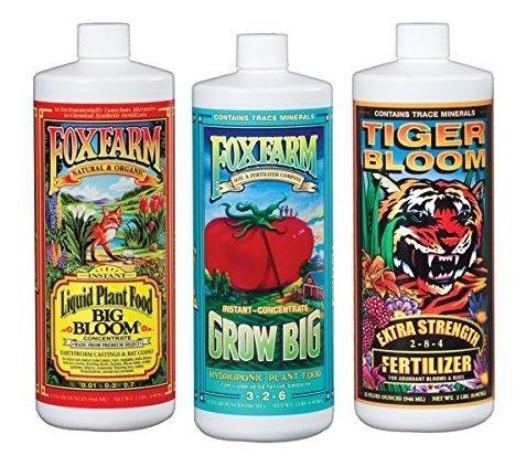 Foxfarm Fx14050 Big Bloom Grow Big Y Tiger Bloom Fertilizant