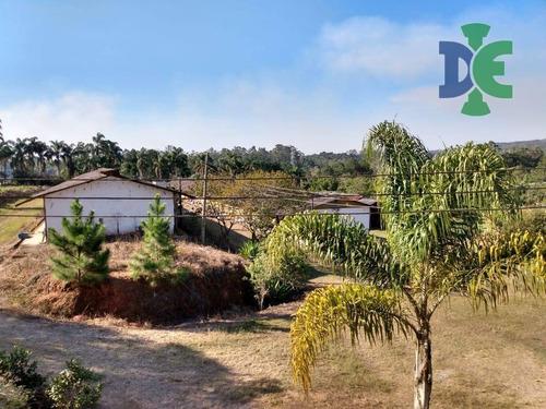 Chácara Com 2 Dormitórios À Venda, 34 M² Por R$ 1.350.000,00 - Centro - Biritiba Mirim/sp - Ch0080