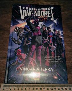 Fabulosos Vingadores Vingar A Terra Lacrado Graphic Novel Hq