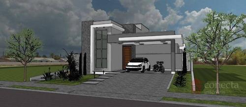 Casa Com 3 Dormitórios À Venda, 205 M² Por R$ 1.270.000,00 - Condomínio Terras Do Cancioneiro - Paulínia/sp - Ca1325