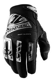Luva Motocross Race Gloves Trilha Preto Pro Tork Tam P