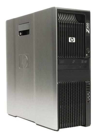 Cpu Hp Z600 Xeon 2.4ghz 8gb 240gb Ssd Quadro 600 + Frete
