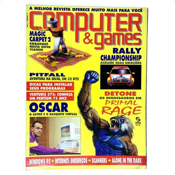 Computer E Games Edição Nº 17 Revista Rara Novembro De 1995