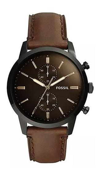 Relógio Fossil Townsman Masculino Fs5437/0mn
