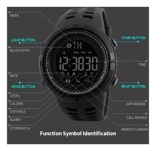 Relógio Skmei 1250 Smartwatch Minas Gerais + Brinde