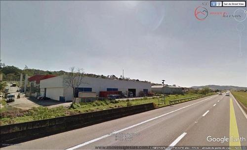 Galpões Industriais À Venda  Em Bom Jesus Dos Perdões/sp - Compre O Seu Galpões Industriais Aqui! - 1445745