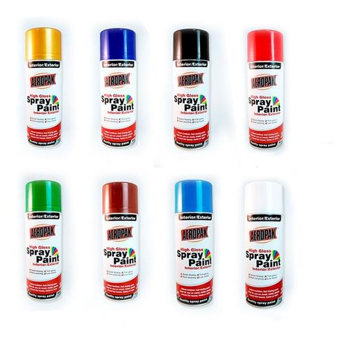 Imagen 1 de 4 de 10 Aerosoles Aeropak Spray Colores Pintura Excelente Calidad